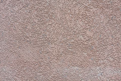 Texture of a wall with decorative plaster Stock Photography