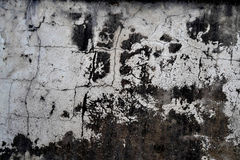 TEXTURE OF WALL DEGRADE Royalty Free Stock Image
