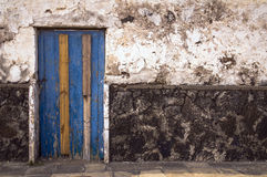 Texture on wall and door Royalty Free Stock Photo
