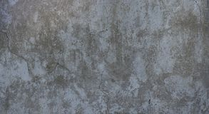 Texture wall gray old plaster with cracks royalty free stock image