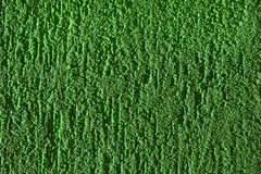 Texture of a wall. Green, grainy mortar wall texture Stock Photos