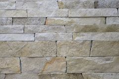 Texture wall made of natural stone. Background texture wall made of natural stone brick Royalty Free Stock Photos