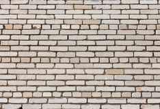 Texture of wall made of white silicate brick Stock Photography