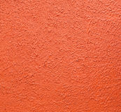 The texture of wall from orange color by painted for background Royalty Free Stock Photography
