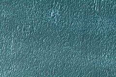 The texture of the wall painting in beautiful aqua. Shot close up royalty free stock image