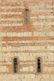 Texture of the wall Patriarchal Сathedral. Pitsunda, Abkhazia Stock Photo