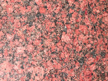 Texture of wall of polished pink granite Royalty Free Stock Photos