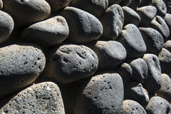 Texture on wall of stone Stock Image