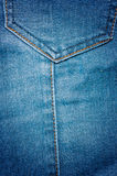 Texture and Wallpaper jeans. Texture and Wallpaper denim blue Royalty Free Stock Photography