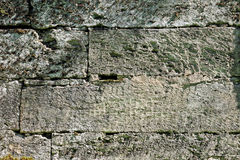 Texture of the walls. famous Pudost stone silvia park Stock Images