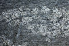 Texture of warm gray knitted winter clothes. royalty free stock photos