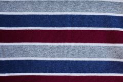 Texture of warm knitted striped clothes royalty free stock image