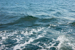 Texture of water. Black Sea, Ukraine Stock Photography