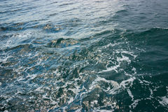Texture of water. Black Sea, Ukraine Royalty Free Stock Photos