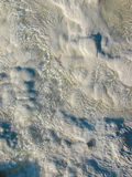 Texture of water on the limestone - Pamukkale Royalty Free Stock Photo