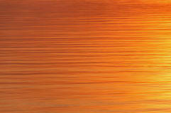 Texture water sunset river Royalty Free Stock Photography