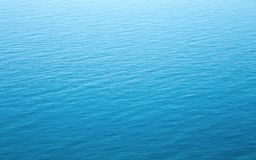 Blue water texture. Royalty Free Stock Image