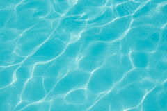 Texture of water in the swimming pool Royalty Free Stock Images