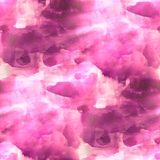 Texture watercolor seamless purple Stock Images