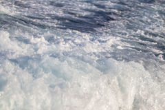 Texture - waves sea storm foam Royalty Free Stock Photography