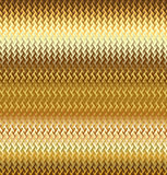 Texture wavy gilded meta Stock Images