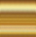 Texture wavy gilded meta Stock Images