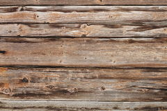 Texture of weathered spruce planks Stock Photography
