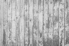 Texture of weathered white wooden planks Stock Image