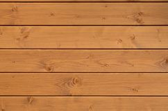 The texture of weathered wooden wall. Aged wooden plank fence of horizontal flat board. S Stock Images