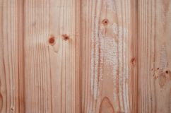 The texture of weathered wooden wall. Aged wooden plank fence of vertical flat board. S Royalty Free Stock Photography