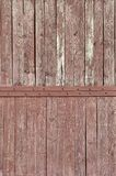 The texture of weathered wooden wall. Aged wooden plank fence of vertical flat board. S Stock Photography