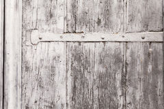 Texture Of A Weathered Wooden Window Shutter Stock Photography