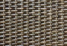 Texture weave of rattan Stock Images