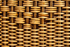 Texture of weave reed Royalty Free Stock Image