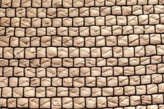 The texture weave of straw, carpet stock illustration