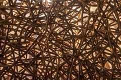 Texture weave wood Stock Photos