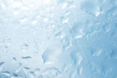 Texture of wet glass Stock Image