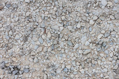 Texture of wet gravel road Stock Photography