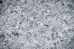 Texture of wet gravel road Stock Images