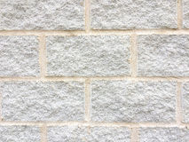 Texture of a white bricks wall Stock Image