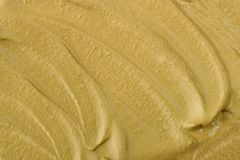 Texture of white clay mask cream. To the face and body closeup.  May use as background Royalty Free Stock Photo