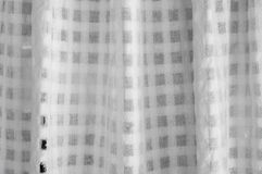 Texture of white curtain royalty free stock photo