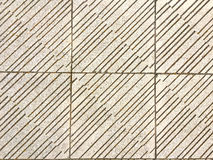 Texture of white floor with black lines Stock Image