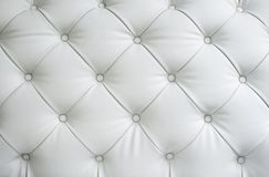 Texture of white leather Royalty Free Stock Photo