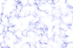 Texture of white marble with blue streaks stock photos