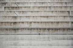 Texture of white marble stairs Stock Image