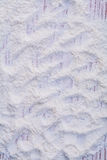 Texture of white natural flour poured on wooden Royalty Free Stock Image