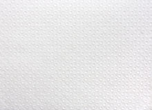 Texture of white  paper napkin Stock Photo