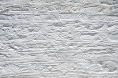 Texture of a white plastered Wall Stock Photos