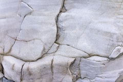 Texture of white rock Royalty Free Stock Image